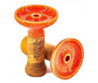 Чаша Oblako Phunnel Glaze Top (Облако)  Marble Orange Red M