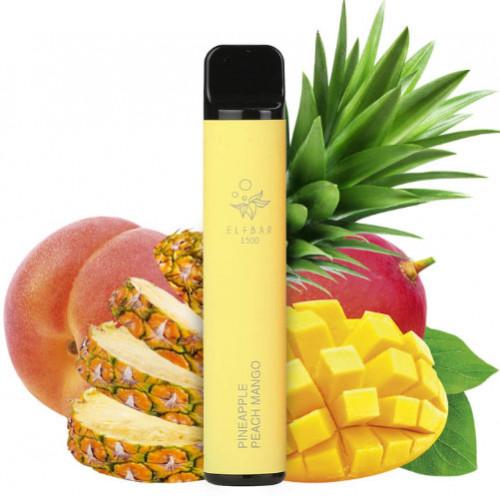 Elf Bar 1500 Pineapple Peach Mango (Ананас Персик Манго) 50мг - Одноразовая Pod система Эльф Бар