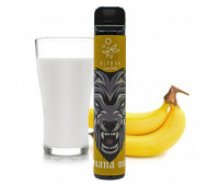 Elf Bar Lux 1500 Banana Milk (Банан Молоко) 50мг - Одноразовая Pod система Эльф Бар