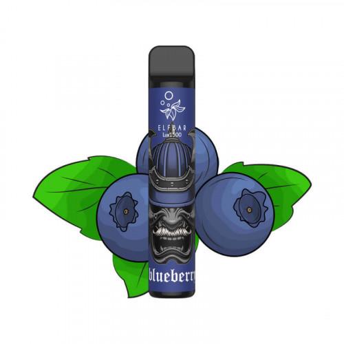 Elf Bar Lux 1500 Blueberry (Черника) 50мг - Одноразовая Pod система Эльф Бар