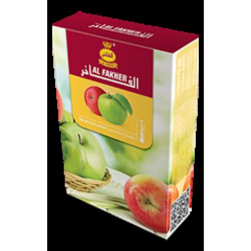 Табак для кальяна Al Fakher Two Apple (Двойное Яблоко) 50 грамм