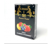 Табак Al Shaha Peach Blueberry Strawberry (Персик Черника Клубника) 50 грамм