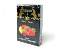 Табак Al Shaha Peach Raspberry Strawberry (Персик Малина Клубника) 50 грамм