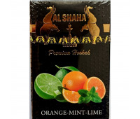 Табак Al Shaha Orange Mint Lime (Апельсин Мята Лайм) 50 грамм