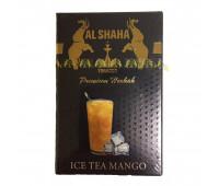 Табак Al Shaha Ice Tea Mango (Ледяной чай с манго) 50 грамм
