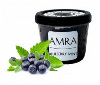 Тютюн Amra Moon Blueberry Mint (Амра Чорниця з М'ятою) 100 грам