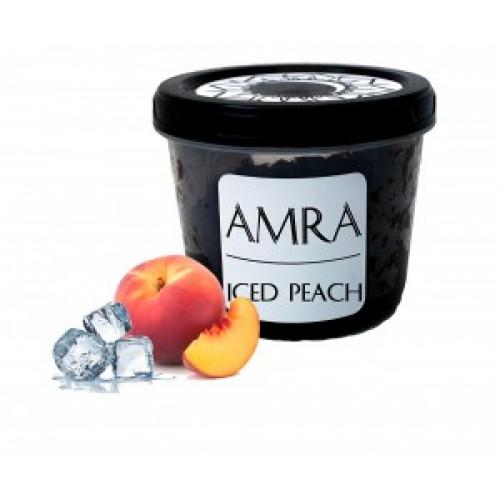 Табак Amra Moon Iced Peach (Амра Ледяной Персик) 100 грамм