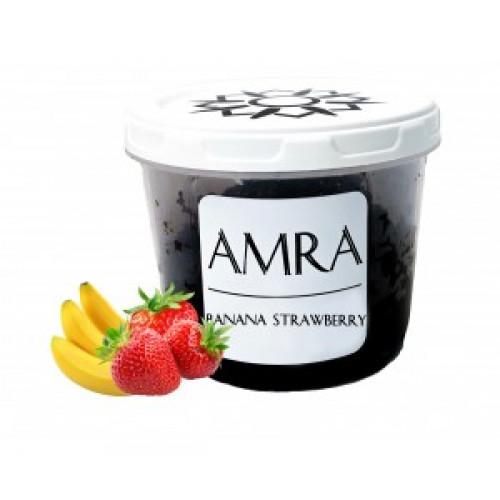 Купити Тютюн Amra Sun Banana Strawberry (Амра Полуниця Банан) 100 грам