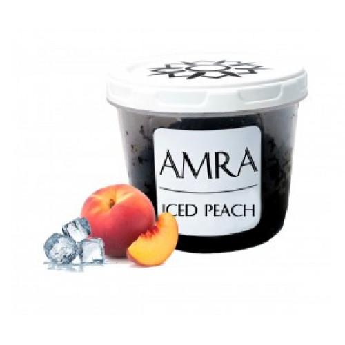 Купить Табак Amra Sun Iced Peach (Амра Ледяной Персик) 100 грамм