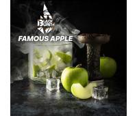 Табак Black Burn Famous Apple (Зеленое Яблоко со Льдом) 100 грамм