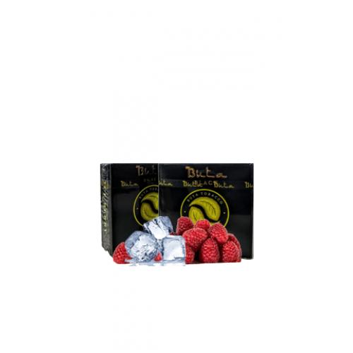 Купить Табак для кальяна Buta Black Ice Raspberry (Бута Блэк Ледяная Малина) 20 грамм