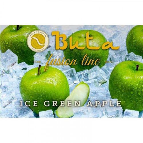 Купить Табак для кальяна Buta Fusion Iсe Green Apple (Бута Фьюжн Ледяное Зелёное Яблоко)