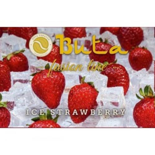 Купить Табак для кальяна Buta Fusion Iсe Strawberry (Бута Фьюжн Ледяная Клубника)