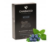 Табак Chabacco Medium Blueberry Mint (Черника c Мятой) 50 гр