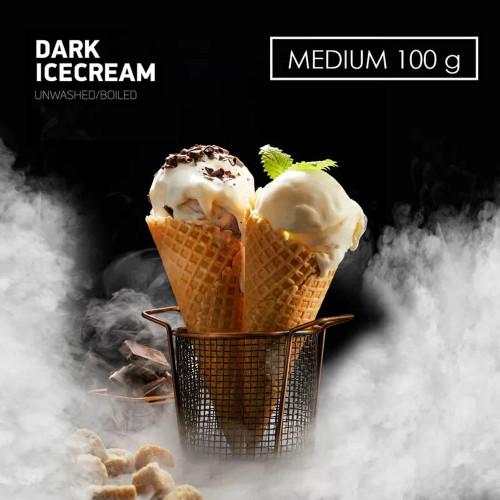 Табак для кальяна DarkSide Dark Icecream (Шоколадное Мороженое) 100 грамм