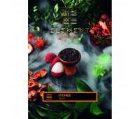 Тютюн для кальяну Element Earth Lychee (Лічі, 100 г)