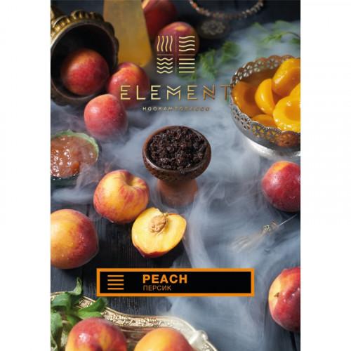 Табак для кальяна Element Earth Peach (Элемент Земля Персик, 100 г)