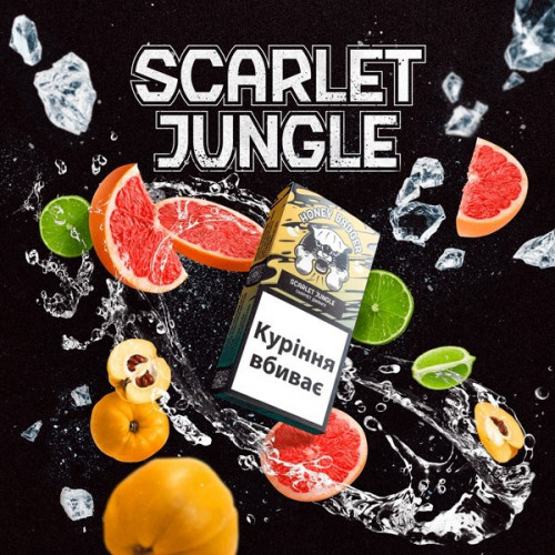 Табак Honey Badger Mild Mix Scarlet Jungle (Скарлет Джангл) 250 гр