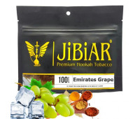 Табак Jibiar Emirates Grape (Эмиратский Виноград) 100 гр