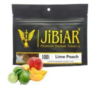 Табак Jibiar Lime Peach (Лайм Персик) 100 гр