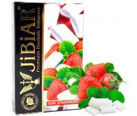 Табак Jibiar Gum Strawberry (Жвачка Клубника) 50 гр