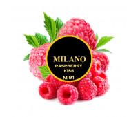 Табак Milano Raspberry Kiss M91 (Малина Кисс) 100 гр