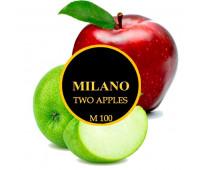 Табак Milano Two Apples M100 (Двойное Яблоко) 100 гр