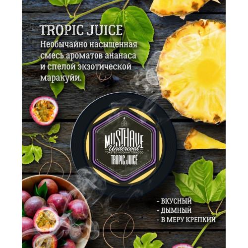 Табак для кальяна Must Have Tropic Juice (Тропический Сок) 125 гр