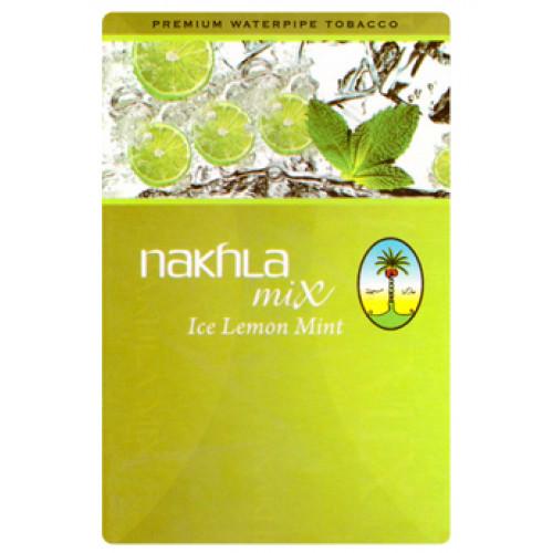 Табак для кальяна Nakhla Mix Айс Лимон Мята (Ice Lemon Mint)
