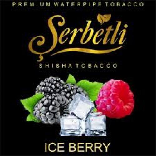 Тютюн для кальяну Serbetli Ice Berry (Крижані ягоди) 50 грам