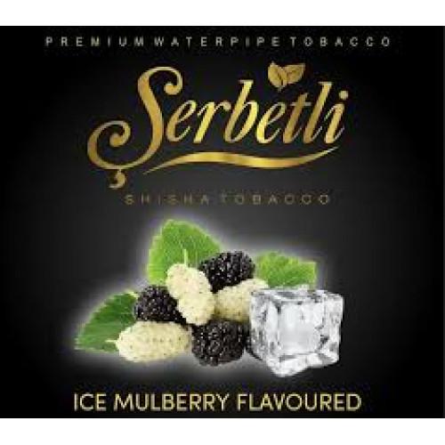 Тютюн для кальяну Serbetli Ice Mulberry (Крижана Шовковиця) 50 грам