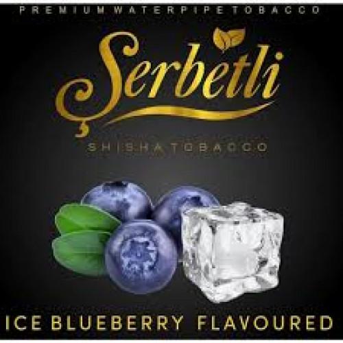 Табак для кальяна Serbetli Ice Blueberry 50 грамм