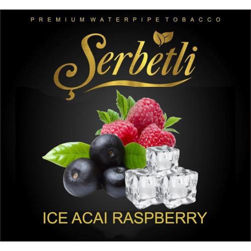 Тютюн Serbetli Ice Raspberry Acai (Крижана Малина Асаи) 50 грам
