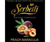 Табак Serbetli Peach Maracuja (Персик с Маракуйей) 50 грамм