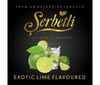 Тютюн Serbetli Exotic Lime (Щербетлі Екзотичний Лайм) 50 грам