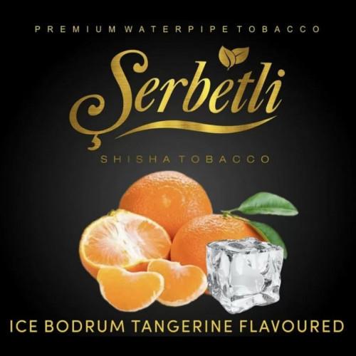 Тютюн для кальяну Serbetli Ice Bodrum Tangerine (Крижаний Мандарин) 50 грам