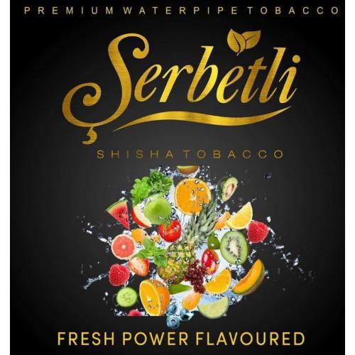 Тютюн Serbetli Fresh Power (Свіжа Сила) 50 грам