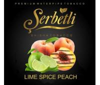 Тютюн Serbetli Lime Spiced Peach (Лайм і Персик зі спеціями) 50 грам