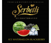 Табак Serbetli Ice Watermelon Blackberry (Ледяная Ежевика Арбуз) 50 грамм