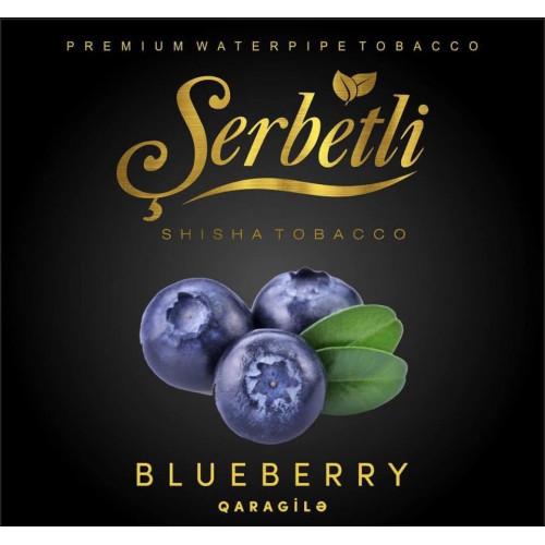 Табак для кальяна Serbetli Blueberry (Черника) 50 грамм
