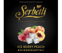 Табак Serbetli Ice Berry Peach (Айс Ягода с Персиком) 50 грамм