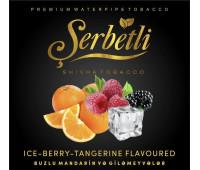 Тютюн Serbetli Ice Berry Tangerine (Крижаний Мандарин Ягоди) 50 грам