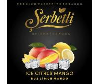 Тютюн Serbetli Ice Citrus Mango (Крижаний Цитрус з Манго) 50 грам