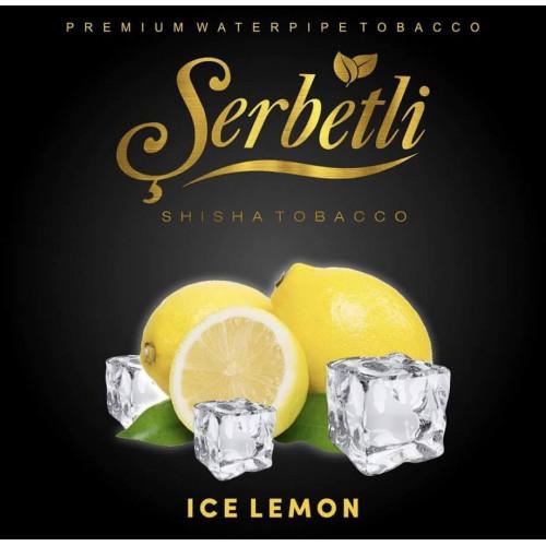 Табак для кальяна Serbetli Ice Lemon (Щербетли Ледяной Лимон) 50 грамм