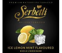 Тютюн Serbetli Ice Lemon Mint (Крижаний Лимон з М'ятою) 50 грам