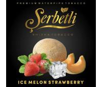 Тютюн Serbetli Ice Strawberry Melon (Полуниця Диня Лід) 50 грам