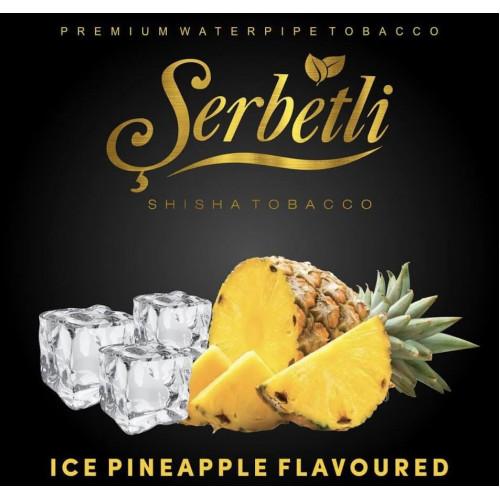 Табак для кальяна Serbetli Ice Pineapple (Щербетли Ледяной Ананас) 50 грамм