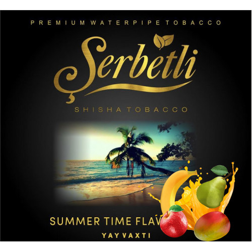 Тютюн Serbetli Summer Time (Саммертайм) 50 грам