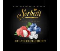 Табак Serbetli Ice Lychee Blueberry (Айс Личи Черника) 50 грамм