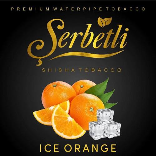Тютюн для кальяну Serbetli Ice Orange (Щербетлі Крижаний Апельсин) 50 грам